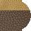 トープ×ゴールド